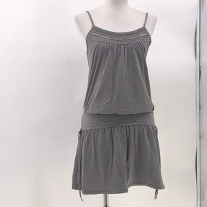 American eagle gray dress sequin top detail spaghe
